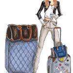 travel luggage Koffer reisen Berit Schulze