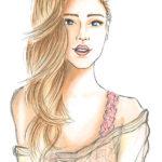 Chiara bs Illustration Copic Berit Schulze blonde