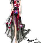 Oscar de la Renta BS Illustration Berit Schulze