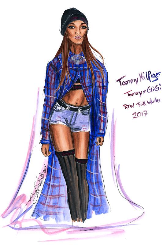 Tommyxgigi Tommy Hilfeger Jourdann Dunn