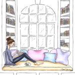 bock lover Bücher Buchecke books bs Illustration
