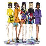 Moschino Gigi Hadid Berit Schulze BS Illustration Fashionillustration Fashion Illustrator Zeichnung drawing Jermey Scott Mode