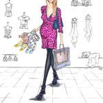 Babysachen Copicmarker BS Illusztration Berit Schulze baby clothing